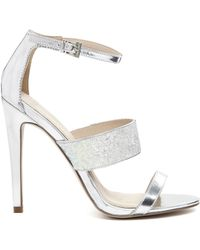 Asos Houston Heeled Sandals - Lyst