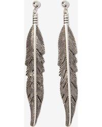 Nasty Gal Little Wing Metallic Earrings - Lyst
