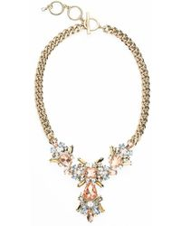 Givenchy Crystal Statement Necklace - Lyst