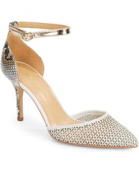 Enzo Angiolini - Circini Point-toe Court Shoes - Lyst