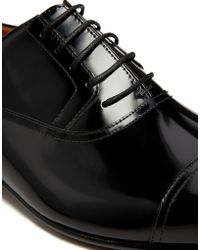 Rolando Sturlini - Hi Shine Toe Cap Oxford Shoes - Lyst