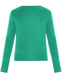 Burberry Prorsum Boat-Neck Cashmere-Blend Sweater - Lyst