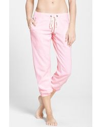Make + Model Weekend Cotton-Blend Sweatpants - Lyst