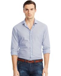 Ralph Lauren Black Label Cotton Sloan Sport Shirt - Lyst