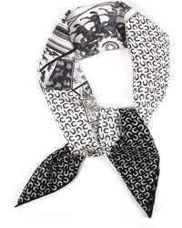 "Hermès | €œa Cheval Sur Mon Carre"" Silk Twill Scarf | Lyst"