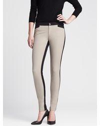 Banana Republic Sloan-fit Colorblock Skinny Ankle Pant - Lyst