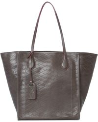 MZ Wallace - Bellport Tote Seagull Leather - Lyst
