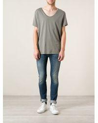 Acne Studios Blue Skinny Jeans - Lyst