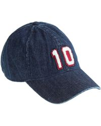 J.Crew - Denim Varsity Baseball Cap - Lyst