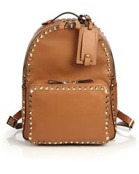 Valentino Rockstud Backpack - Lyst