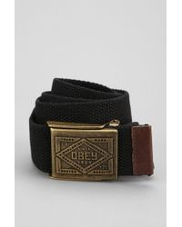 Obey - Trademark Camp Belt - Lyst