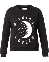 Zoe Karssen Midnight Lovers-Print Sweatshirt - Lyst