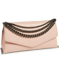 Milly Women'S 'Collins' Clutch - Pink - Lyst