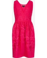 Ted Baker Embroidered Dress - Lyst