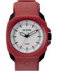 Nixon Ruckus Red / Black Watch - Lyst