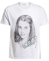 One T Shirt - By Silvia Prada 'generation X - Brooke Shields' Graphic Unisex Tee - Lyst