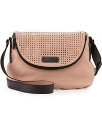 Marc By Marc Jacobs New Q Natasha Perforated Cross-Body Bag - Lyst