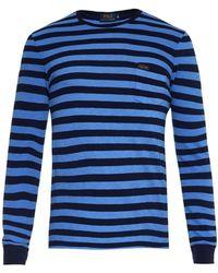 Polo Ralph Lauren Long-Sleeved Striped Jersey T-Shirt - Lyst