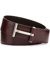 Tom Ford T Buckle Belt - Lyst