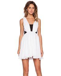 Bec & Bridge White Venus Dress - Lyst