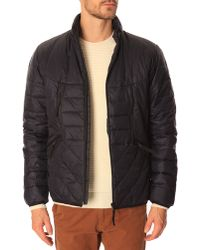 Paul Smith Blue Primaloft Jacket - Lyst