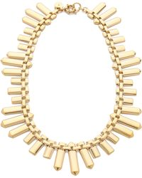 Marc By Marc Jacobs - Plaque Chain Necklace - Lyst
