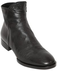 Pomme D'or 20Mm Nappa Leather Ankle Boots - Lyst