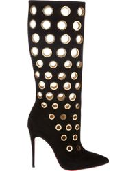 Christian Louboutin Apollo Knee Boots - Lyst