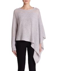 Helmut Lang Core Cashmere Asymmetrical Batwing-Sleeve Sweater - Lyst