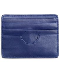 Marc By Marc Jacobs Blue Card Wallet - Lyst