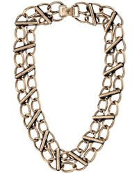 Sam Edelman Interstate Link Collar 16 Necklace - Lyst