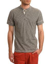Denim & Supply Ralph Lauren Tunisian Thin Stripe Henley T-Shirt - Lyst