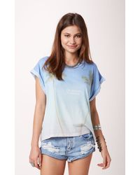 Wildfox Vacation Forever Boy Tee - Lyst