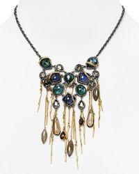 Alexis Bittar Labradorite Tassel Bib Necklace 18 - Lyst