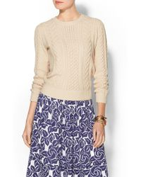 Gant The Cable Sweater - Lyst