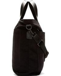 Rag & Bone - Black Canvas Rugged Tote Bag - Lyst