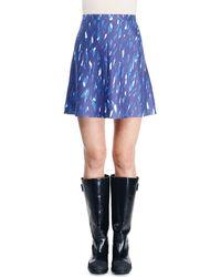 Balenciaga Printed Umbrella Skirt - Lyst