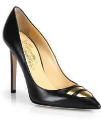 Alejandro Ingelmo Tron Leather Pumps - Lyst