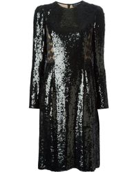 Jonathan Saunders Leah Sequin Dress - Lyst