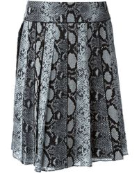 Proenza Schouler Pleated Crepe Skirt - Lyst