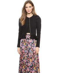 Alice By Temperley Emmanuelle Jacket Black - Lyst