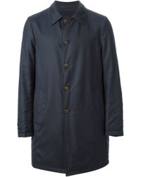 Giorgio Armani Knit Raincoat - Lyst