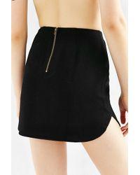 Cope - Dolphin-hem Mini Skirt - Lyst
