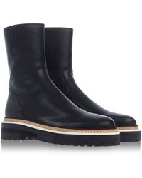Ann Demeulemeester Ankle Boots - Lyst