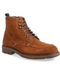 G.H.BASS - 'reston' Moc Toe Boot - Lyst