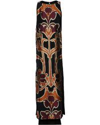 Gucci Black Long Dress - Lyst