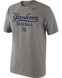Nike Mens New York Yankees Practice Tshirt - Lyst