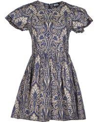 Chloë Sevigny x Opening Ceremony Short Dress white - Lyst