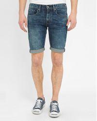 Levi's | Blue Cut-off 511 Pr Slim-fit Jeans | Lyst