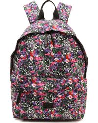 MSGM - Floral Backpack - Lyst